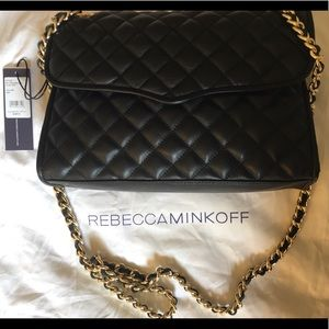 NWT Rebecca minkoff quilted affair (bigger size)